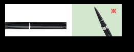 ペンシルアイライナー 《カートリッジ》 BK421 ブラック